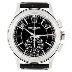 Unworn Patek Philippe Complications Annual Calendar Chronograph 5905P-010
