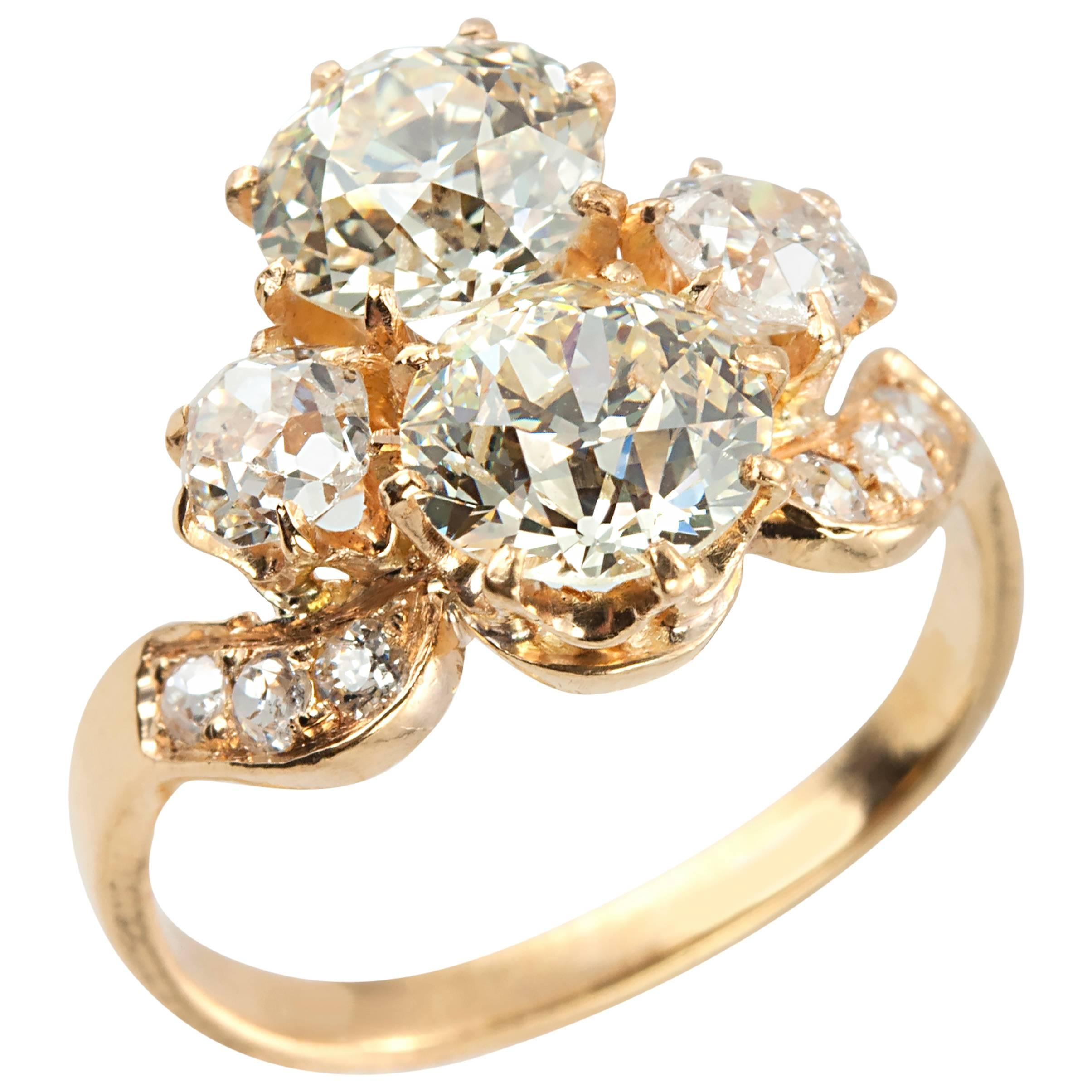 vladislavna n wedding fairy gold rings platinum image