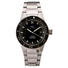 IWC Automatic GST, Aquatimer 3536 in Stainless Steel
