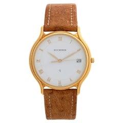 Bucherer Ref 255.107 Vintage Dress Watch, 18K Yellow Gold, Superb Condition