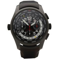 Girard Perregaux Titanium Ceramic WWTC Shadow Flyback Chronograph Wristwatch