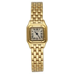Cartier Panthere Mini W25034139 18K Yellow Gold Ladies Watch