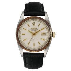 Rolex Datejust 6605 Stainless Steel Vintage Men's Watch