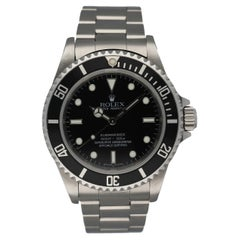 Rolex Oyster Perpetual 14060M Submariner No Date Engraved Rehaut Men's Watch
