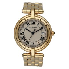 Cartier Cougar Panthere 18K Yellow Gold Ladies Watch