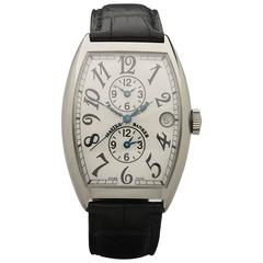 Franck Muller White Gold Master Banker Automatic Wristwatch