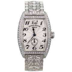 Franck Muller Lady's White Gold Diamond Wristwatch