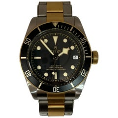 Pre-Owned Tudor Black Bay Heritage Two-Tone Watch Box/Papers 2019