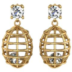 Lidy Peters & Sparkles Diamond Gold Earrings