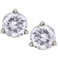 10.38 Carat Diamond Stud Earrings