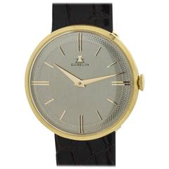 Gubelin Yellow Gold Dress Model Wristwatch