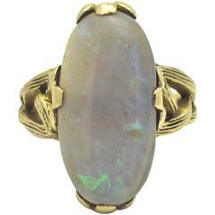 4.5 Carat Opal Gold Ring
