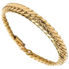 Tennis Bracelet in Yellow Gold