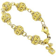 Stambolian Diamond Gold Bracelet