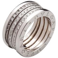 Bulgari B.Zero1 Diamond Gold Ring