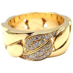 Cartier La Dona Diamond Gold Band Ring