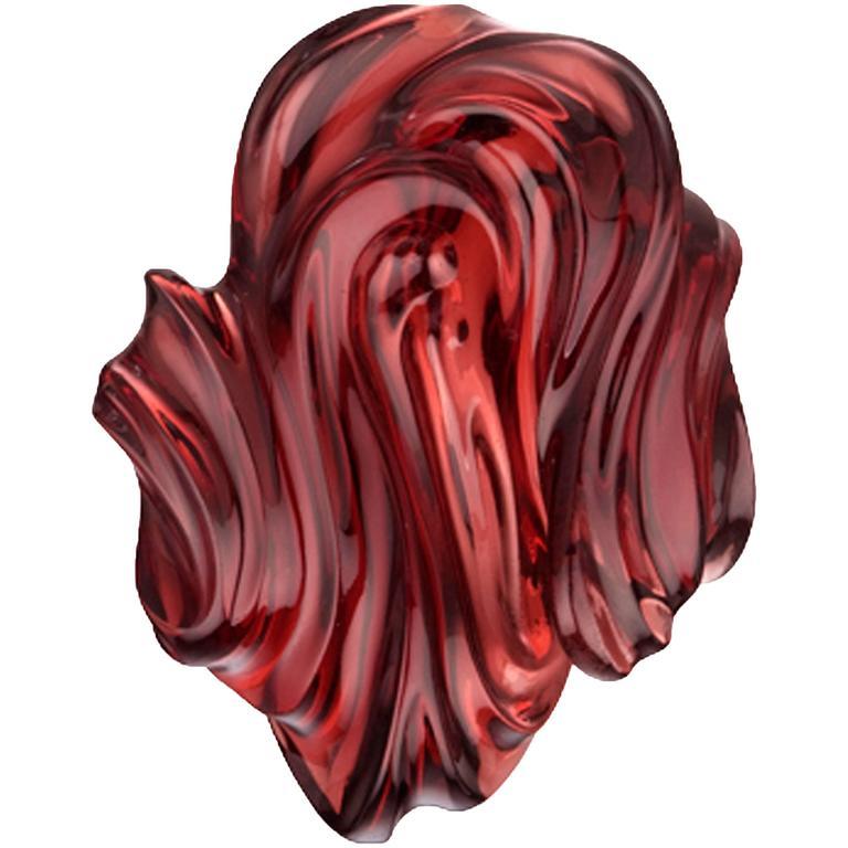 Naomi Sarna Almandine Garnet Carving For Sale