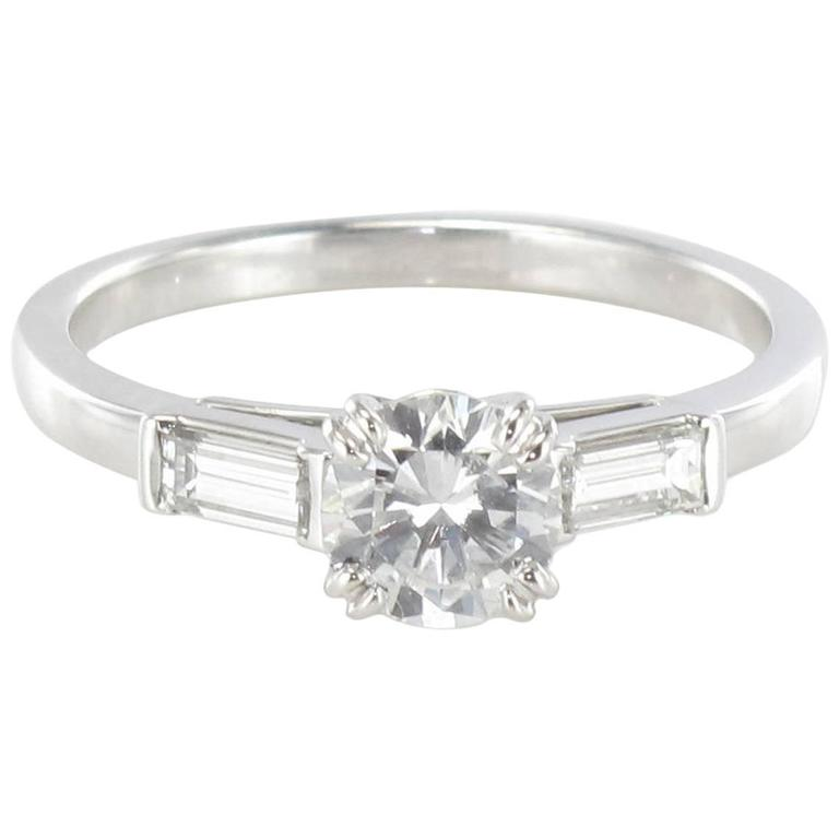 1 Carat Diamond Gold Solitaire Ring