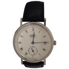 Breguet White Gold Classique Date Automatic Wristwatch Ref 5920