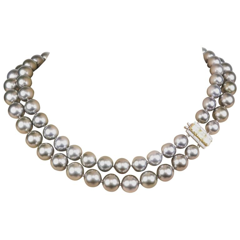 Graff Double Strand Pearls Necklace