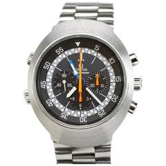 Omega Stainless Steel Flightmaster Wristwatch Ref 145.036