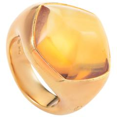 Pomellato Citrine Gold Ring