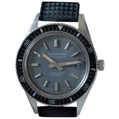 Blancpain Stainless Steel Bathyscaphe Diver's Automatic Wristwatch
