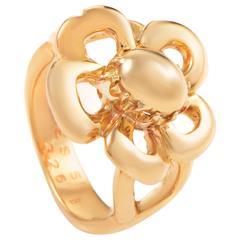 Hermes Gold Flower Ring