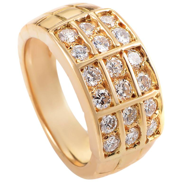 Mauboussin Diamond Gold Band Ring