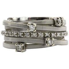 Marco Bicego Goa Diamond Gold Ring