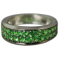 Mauboussin Tsavorite Gold Ring