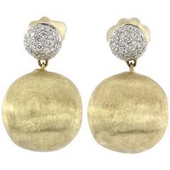 Marco Bicego Diamond & 18k Gold Africa Earrings
