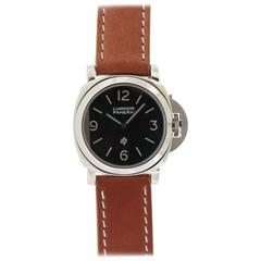 Pre-Vendome Luminor Panerai Stainless Steel Wristwatch Ref 5218-201/A