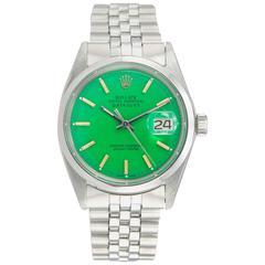Rolex Stainless Steel DateJust Wristwatch Ref 1600