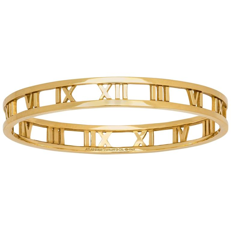 Tiffany & Co. Gold Atlas Bracelet