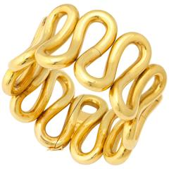 Bold Italian Gold Bracelet