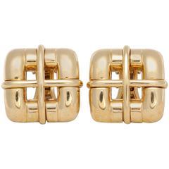 Tiffany & Co. Italy Gold Earrings