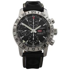 Chopard Stainless Steel Mille Miglia GMT Chronograph Automatic Wristwatch