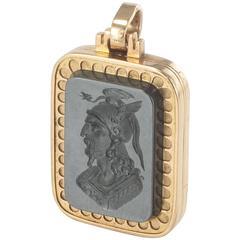 Antique Medallion with Hematite Intaglio