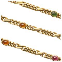 Bulgari Gemstone Gold Long Chain
