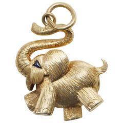 Cartier Elephant Pendant