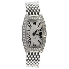 Bedat Ladies Stainless Steel Diamond Bezel No 3 Wristwatch