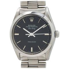 Rolex Stainless Steel Oyster Perpetual Airking Wristwatch ref 5500