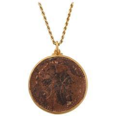 Rare Russian 1841 Tsar Nicholas I Coin Pendant