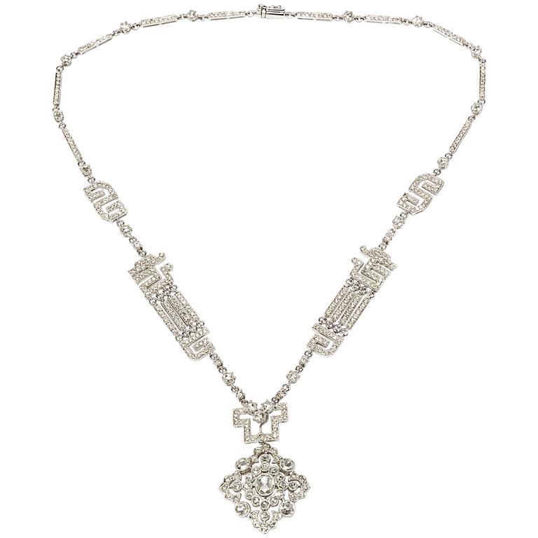 Gorgeous Diamond Gold Necklace