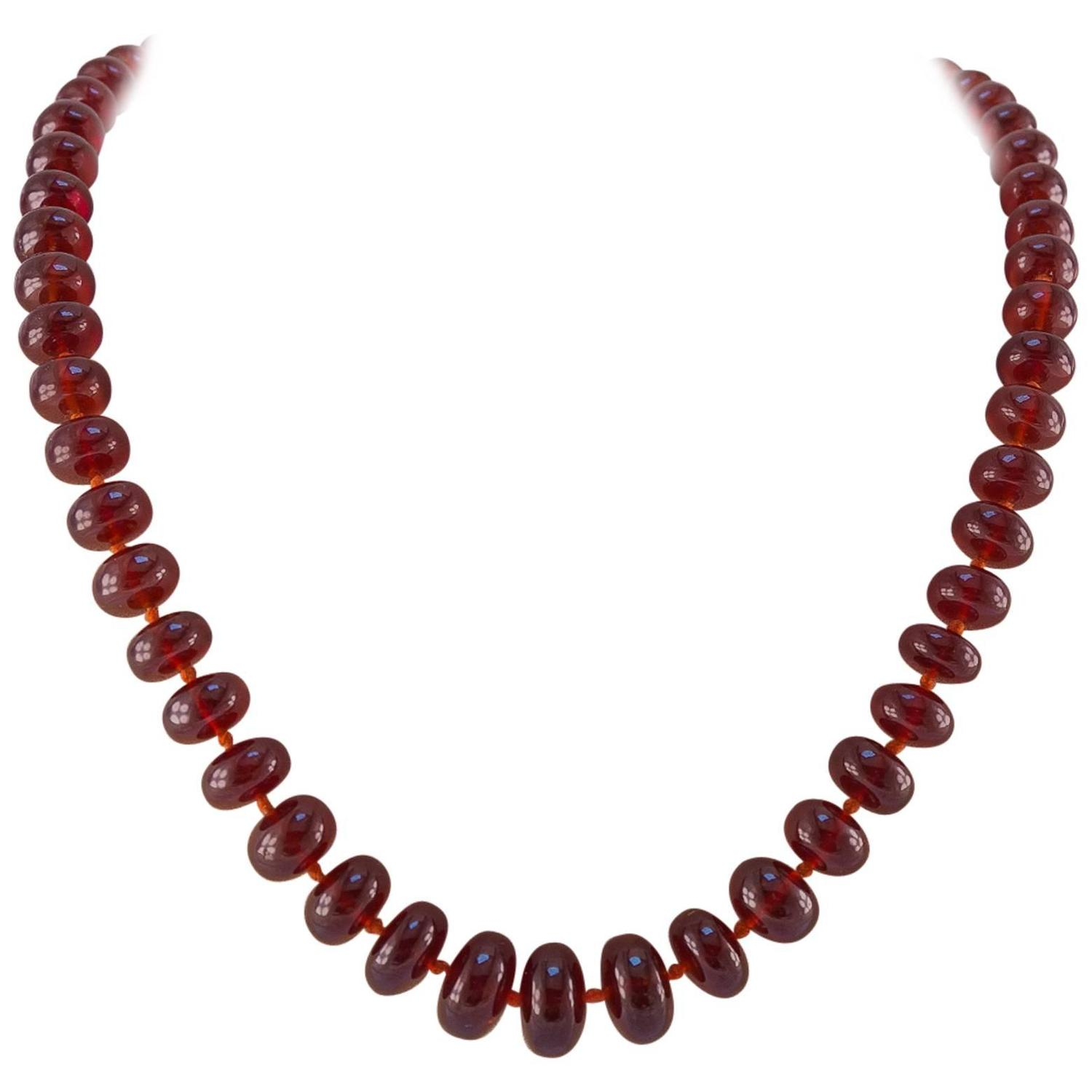 bar gift gold necklace beaded il garnet or crystal listing red fullxfull moonstone in