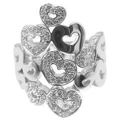 Pasquale Bruni Diamond Gold Heart Ring