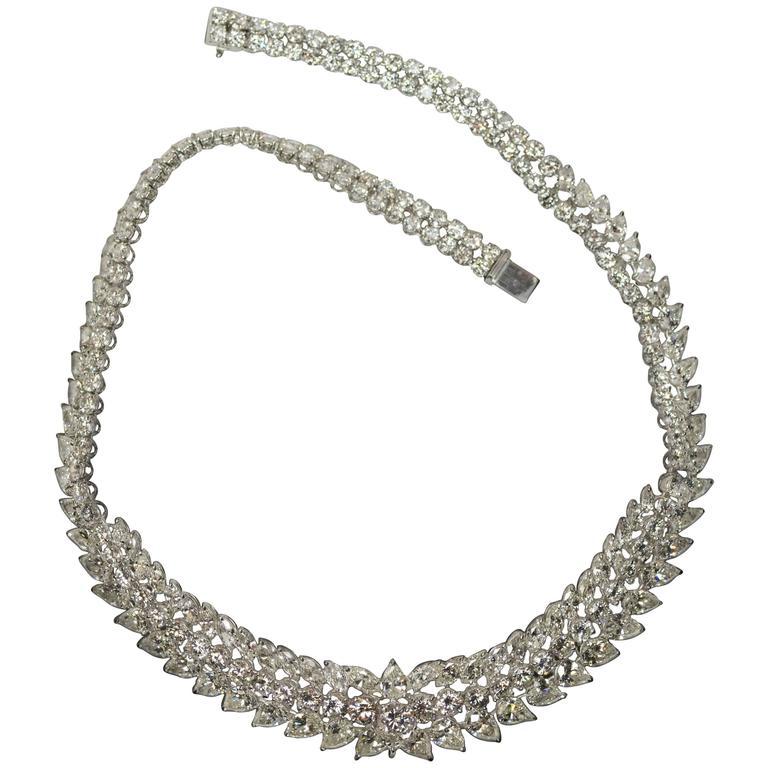 Keith Davis Diamond Platinum Necklace