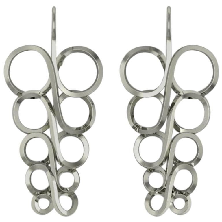Henk Stallinga & Sparkles Gold Earrings