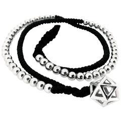 Vera Circle Silver Wrap Bracelet
